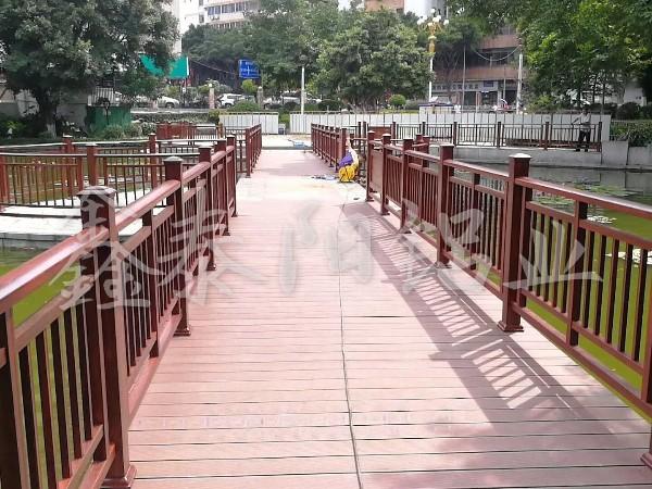 西桥公园护栏