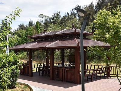 鑫泰阳浅谈铝合金凉亭与传统木质凉亭的比较